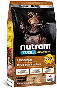 Nutram T27 Total Grain-Free Small Breed Chicken & Turkey Dog Food,