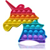 iCOOLIO Pop it Antistress, Fidget Toy Set, popit Game, Push Pop Pop Bubble, poppit Unicorno, figet Toys Kit