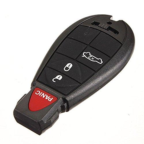 Wooya 4 Knopf-Taste-Taste Fernbedienung Keyless Eintrag Ungeschnitten Klinge Für Dodge Chrysler (Challenger Ersatzteile Und Zubehör)