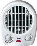 AEG Heizlüfter 1000/2000W weiß mit Überhitzungsschutz und Frostschutzschaltung
