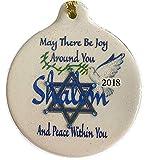 Laurie G Creations Shalom Dove Joy Peace 2018 Porzellanfigur in Schachtel