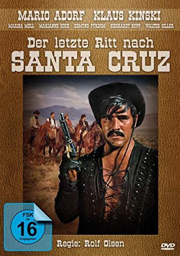Der letzte Ritt nach Santa Cruz - mit Mario Adorf und Klaus Kinski - Western Filmjuwelen