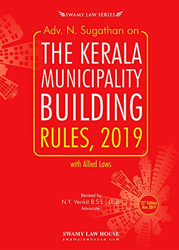 N.SUGATHAN ON KERALA MUNICIPALITY BUILDING RULES, 2019