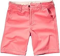 Hollister - Pantalón Corto - Chino - Básico - Manga Corta - para Hombre