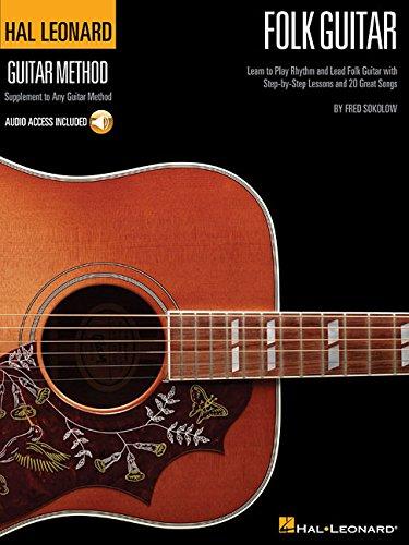 Hal Leonard Folk Guitar Method (Book/Online Audio) (Hal Leonard Guitar Method) por Fred Sokolow