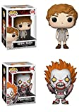 FunkoPOP IT: Beverly Marsh + Pennywise (Spider Legs) – Stylized Horror Vinyl Figure Bundle Set NEW
