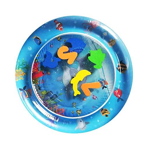 Neu !!! YEARNLY Baby Aufblasbare Badewanne Wasser Kissen Spaß Aktivität Unterhaltungszentrum Aufblasbare Sicherheitswanne 2PCS Rechteckig + rund - Runde Set, China Schrank