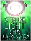 Strobe Light: 6 Flashes Per Second - Color White - 4 Hours [OV]