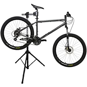 Jazooli Bike Stand Bicycle Folding Repair Maintenence Cycle Workstand for Home Workshop