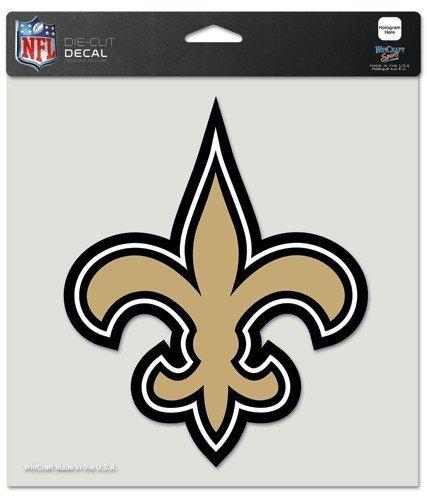 NFL Aufkleber 20 x 20 cm New Orleans Saints