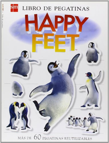 Libro de pegatinas. Happy Feet por Mandy Archer