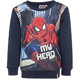 Spiderman Niños Sweatshirt (Navy , 3 Años)