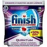 Finish Quantum Lavavajillas Pastillas Regular - 26 +50% (39 pastillas)