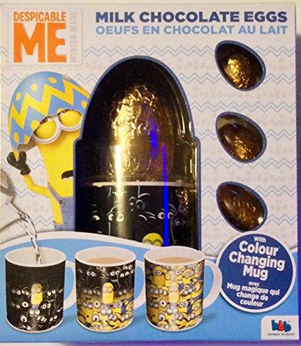 Un moi méprisable! Oeufs au chocolat au lait avec tasse changeante de couleur 82g