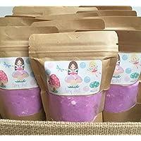 Fairy Bath Dust, Foaming Bath Bomb Dust, Resealable Pouch, Great For Kids