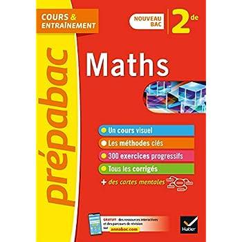 Maths 2de - Prépabac: nouveau programme de Seconde 2019-2020