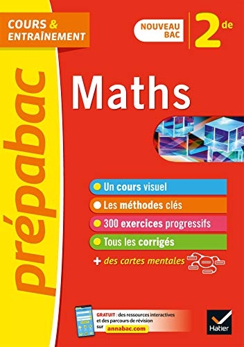 Prépabac entraînement progressif, Maths 2de