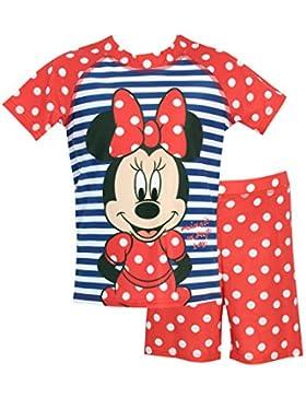 Disney Topolina - Costume da bagno per Ragazze a Due Pezzi - Minnie Mouse