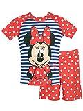 Disney Minnie Mouse Mädchen Minni Maus Zweiteiliger Badeanzug 122