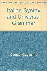 Italian Syntax and Universal Grammar