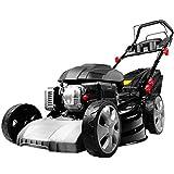BRAST Benzin Rasenmäher Selbstantrieb GT Getriebe 53cm Schnittbreite 3,8kW 5,2PS kugelgelagerte Big-Wheeler Räder Stahlblechgehäuse Easy Clean TÜV geprüft
