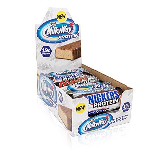 Mars Snickers Bounty Milky Way Protein Bar Eiweiß Riegel Mix Box, 20 Stück