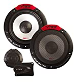 "Inex Vibe Pulse 6C 6.5"" 165mm 240W Component Car Audio Door Shelf Speaker Pairs"