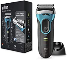 Braun Series 3 ProSkin 3080s Electric Shaver Wet and Dry Electric Razor for Men with Pop Up Precision Trimmer and...