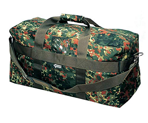 Commando Industries US Army Airforce Bag Große Sport- und Reisetasche 57L (Flecktarn)