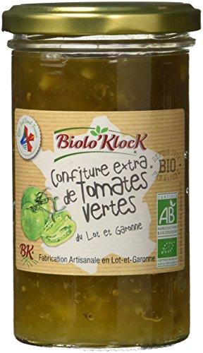 BIOLO'KLOCK Confiture de Tomates Vertes 300 g - Lot de 3