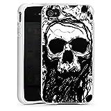 DeinDesign Apple iPhone 4s Housse Étui Silicone Coque Protection Crâne Tête De...