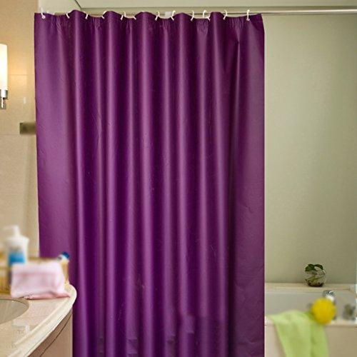 Rideaux de douche Rideau de douche PEVA Bathe salle de bains imperméable coupé durable de la mode Durable ( taille : 240x200CM )