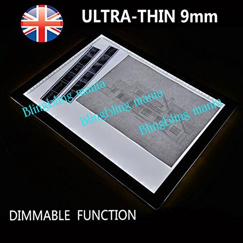 A2 LED-Leuchttisch, modernes Design, sehr dünn