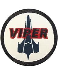 Battlestar Galactica Viper Pilot BSG Embroidered Fastener Patch