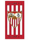 Secaneta 60041.000 - Toalla, 76 x 152 cm, Terciopelo, Estampada Sevilla FC