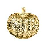 simpdecor Halloween Kürbis Licht LED Beleuchtete mit Timer Kürbisse Glas Herbst und Home Decor,...