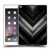 Head Case Designs Offizielle PLdesign Silber Glitzerndes Metall Soft Gel Hülle für iPad Air 2 (2014)