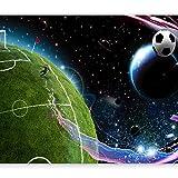murando Papier peint intissé 350x256 cm Décoration Murale XXL Poster Tableaux Muraux Tapisserie Photo Trompe l'oeil Football enfants 10110902-3