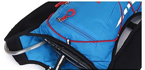 Outdoor peak Ultralight Herren Damen Hüfttasche Gürteltasche Bauchtasche Crossover-Bag Fahrrad tragbaren Taschen Triangle Tasche Messenger Bag Brusttasche Sport für Handy, Schlüssel, Geldbörse Rad Ruc Farbe 5