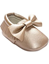 Etosell Bebe Garcon Fille Toddler Tassel Cuir Les Chaussures 0-18 M