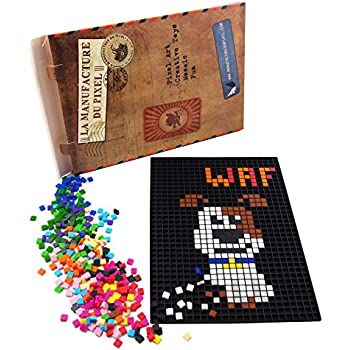 La Manufacture Du Pixel 900 Carrés Pixels Multicolore