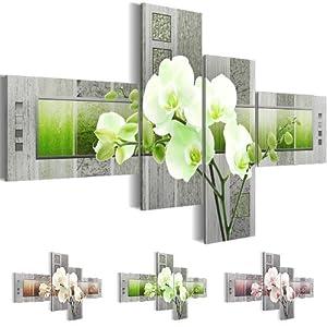 Wandbilder Wohnzimmer Modern Grün | Deine-Wohnideen.de