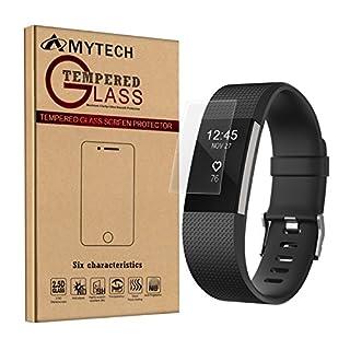 Fitbit charge 2 (5 Stück pro Set), AmyTech Displayschutzfolie für fitbit charge 2 Displayschutz Film Schutzfolie