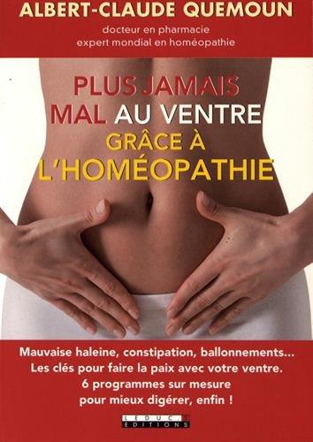 Plus jamais mal au ventre avec l'homéopathie