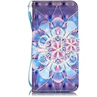 AmberMa - Funda con Tapa para Samsung Galaxy (función Atril), Color Color Nine, tamaño Samsung Galaxy S6