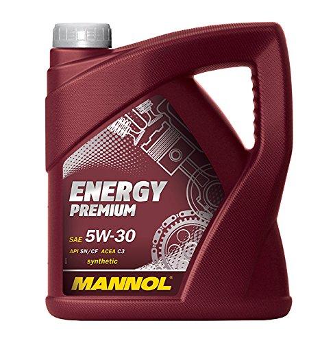 MANNOL Energy Premium 5W-30 API SN/CF Motorenöl, 5 Liter