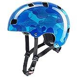 Uvex Kid 3 Kinder Dirtbike Skate Fahrrad Helm Camo blau 2019: Größe: 55-58cm