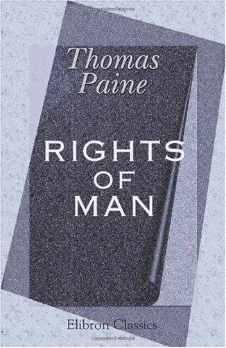 Rights of Man por Thomas Paine