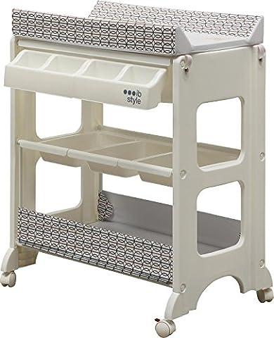 IB-Style - Changing table and bath   7 decors   baby storage bath   tub unit -