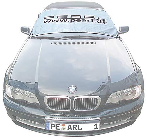 PEARL Sonnenschutz Auto: Sonnenschutz- & Anti-EIS-Folie reflektierend für Front- & Heckscheibe (Sonnenschutz Abdeckung Auto)